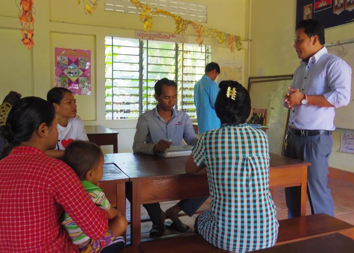 小口融資に関するトレーニング(人材育成カンボジア)