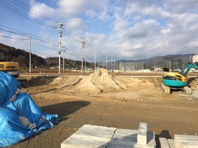 気仙沼 JR鹿折唐桑駅前 現在の様子